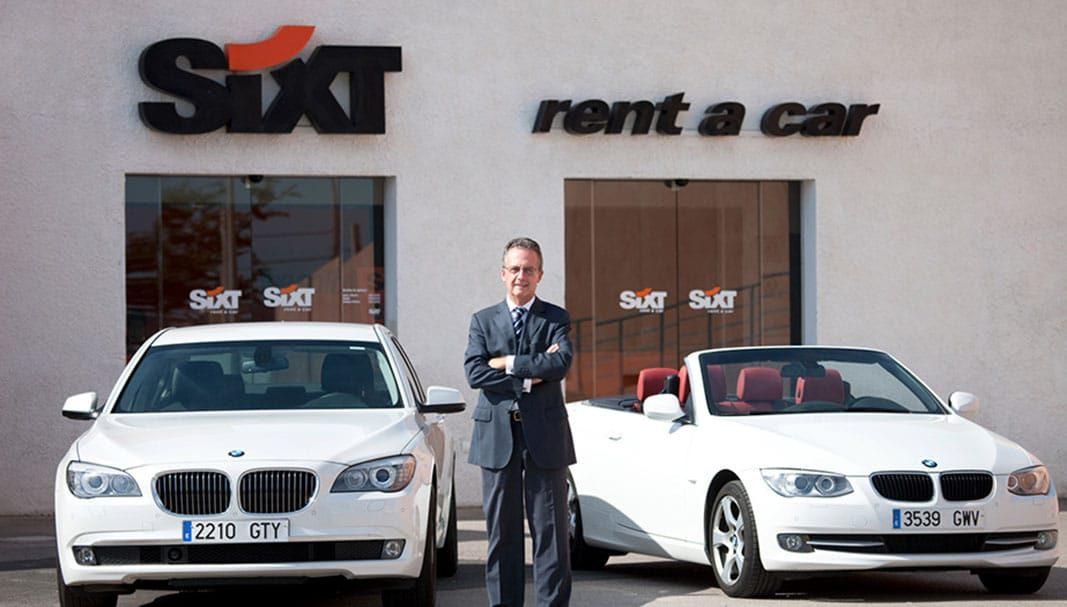 Sixt valora la evolución de su filial española