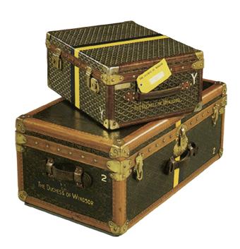 El baúl de viaje de la señorita Wallis, duquesa de Windsor