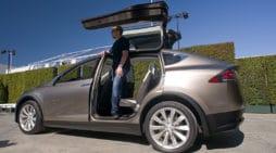 Elon Musk, durante la presentación del Tesla Model X.