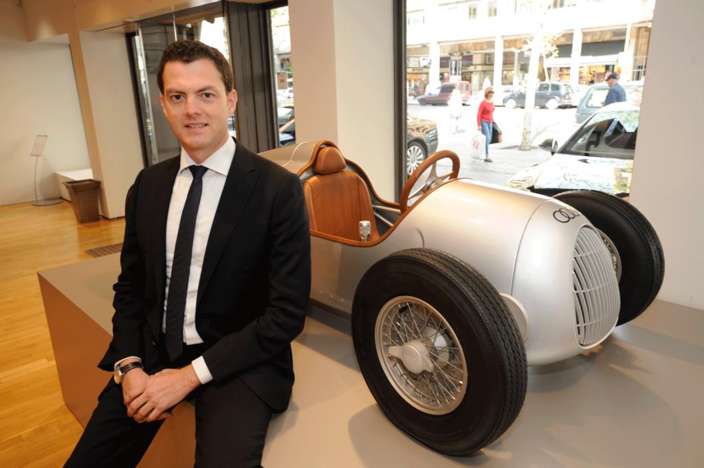 Paolo Prinari es director de Ventas Corporativas de Audi en España. FOTOGRAFÍA: F.A.