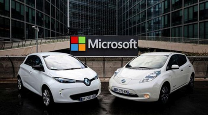 Renault-Nissan se alía con Microsoft para el desarrollo de la conducción conectada