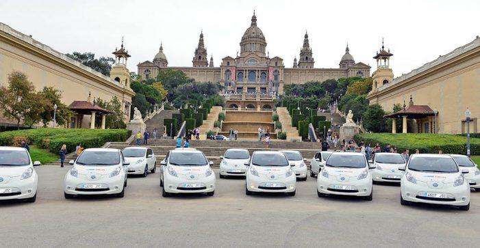Seur y Nissan presentan su flota ecológica para el reparto urbano