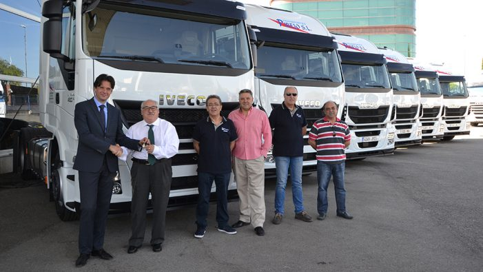 Iveco Stralis entrega seis nuevos Stralis a Transportes Pibejo