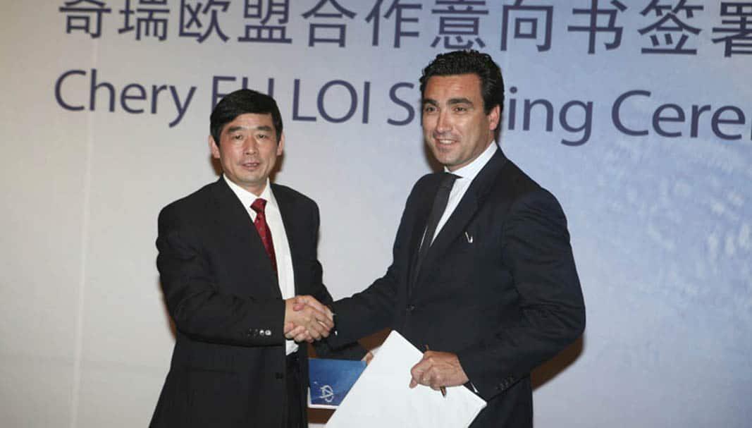 Bergé Automoción reordena su estrategia china en España