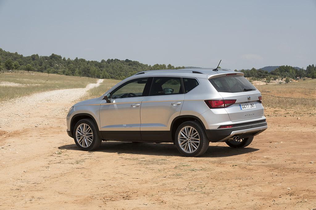 El Seat Ateca es el SUV más vendido en renting en España.