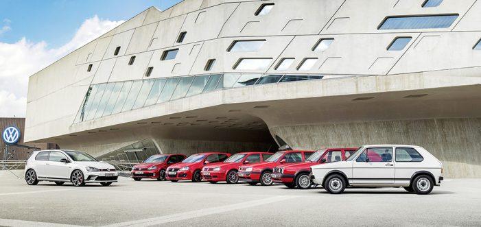 El Volkswagen Golf GTI cumple 40 años con siete generaciones