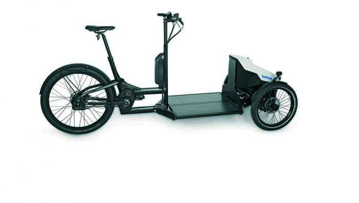 La bici eléctrica Sortimo para todos