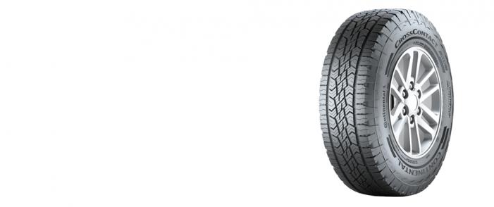 El nuevo neumático Cross Contact ATR de Continental