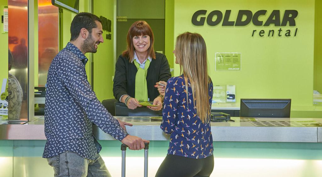 Oficinas de la empresa Goldcar, que acaba de ser comprada por Europcar. // FOTOGRAFÍA: GOLDCAR