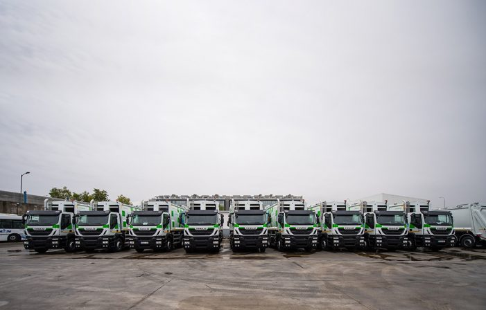 Iveco entrega al Ayuntamiento de Madrid 109 vehículos Stralis