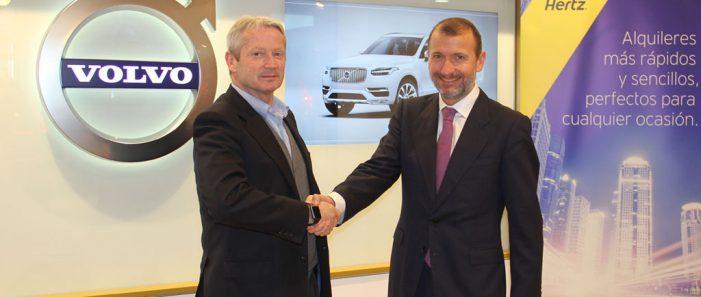 Hertz incorpora a su flota el nuevo Volvo CX90