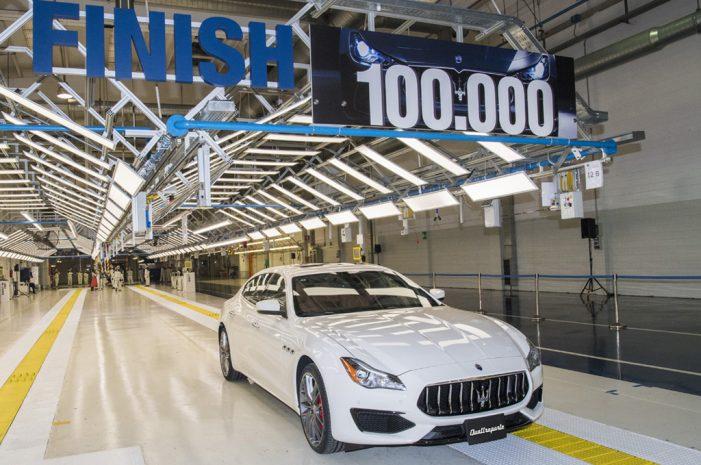 Maserati fabrica su coche número 100.000