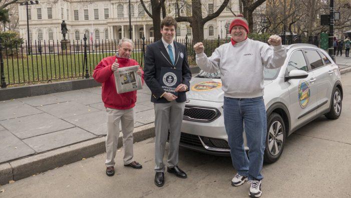 El Kia Niro logra el Guinness World Record por el consumo más bajo