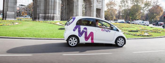 Llega a Madrid emov, un nuevo servicio de carsharing de vehículos eléctricos