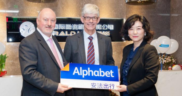 Alphabet lanza su servicio de leasing en China