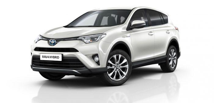 Europcar contará con una flota de 100 Toyota RAV4 hybrid