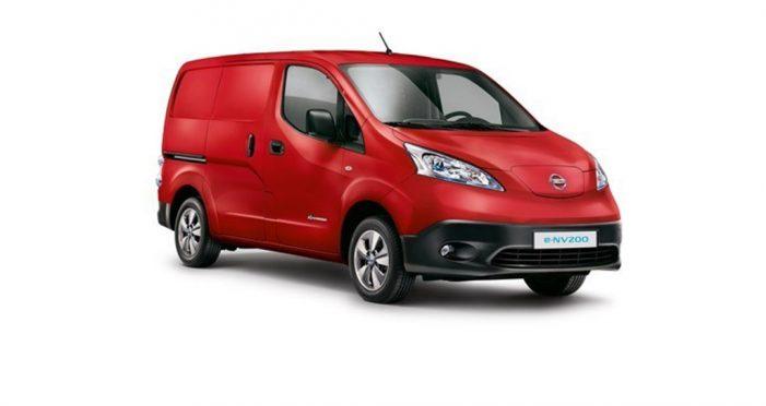 La furgoneta eléctrica Nissan e-NV200  más vendida en Europa en 2016