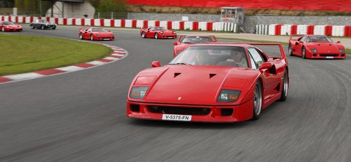 El Espíritu de Montjuïc celebra el 70 Aniversario de Ferrari
