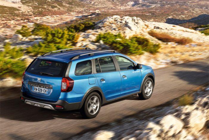 Dacia lleva el acabado Stepway al modelo familiar Logan MCV