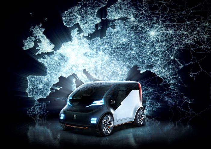 Honda NeuV, un concepto eléctrico que explora ventajas económicas ideales para clientes de empresas