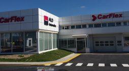 Una de las filiales de la empresa de leasing y renting ALD Automotive, en Alcalá de Henares (Madrid).