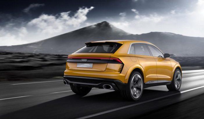 Audi Q8 Sport Concept, avance de una nueva familia con una versión híbrida novedosa