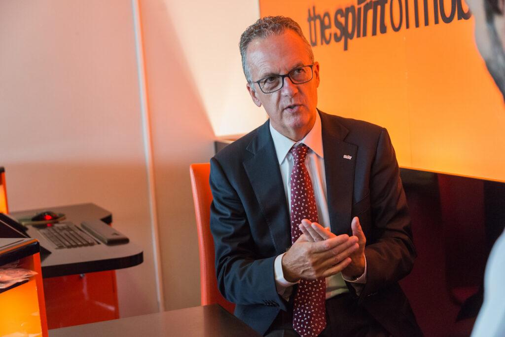 Estanislao De Mata es consejero delegado de la alquiladora de vehículos Sixt en España. // FOTOGRAFÍA: MARIO RETANA / FLEET PEOPLE