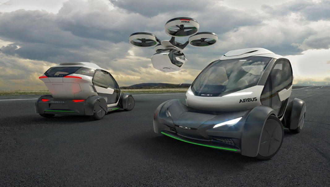 ¿Será así la movilidad futura? Airbus e Italdesign la proponen con el Pop.up