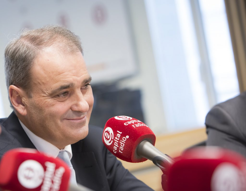 Alberto Sáenz, CEO de LeasePlan. // DANIEL SANTAMARÍA / FLEET PEOPLE