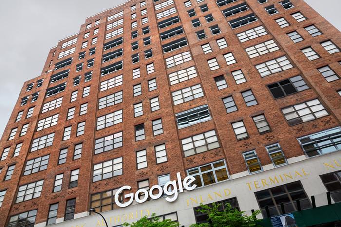 La sede de Google, en Nueva York, en Meatpacking District. FOTOGRAFÍA: DROP OF LIGHT