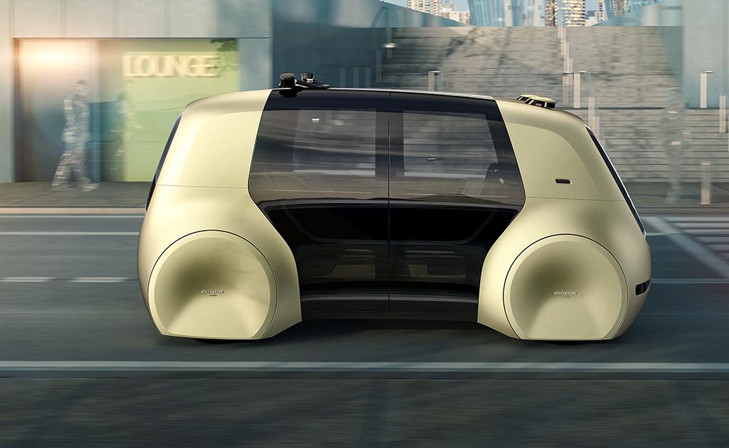 Este es coche autónomo de Volkswagen: el Sedric. // FOTOGRAFÍA: VOLKSWAGEN