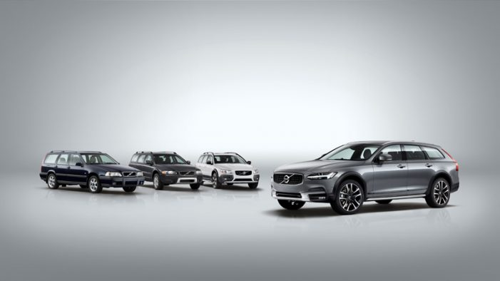 Volvo V90 Cross Country, el campero familiar que completa la gama V90