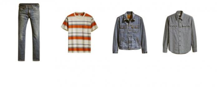 El espíritu juvenil de los '60 y '70  vuelve con Levi's Orange Tab