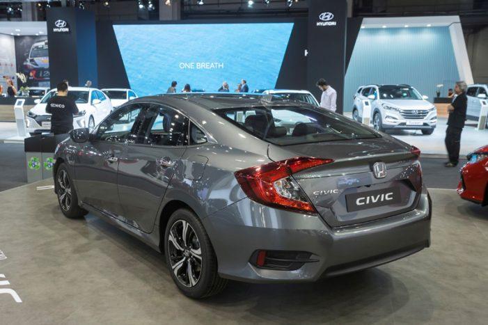 El nuevo Honda Civic Sedan (cuatro puertas), disponible en España este mes de mayo