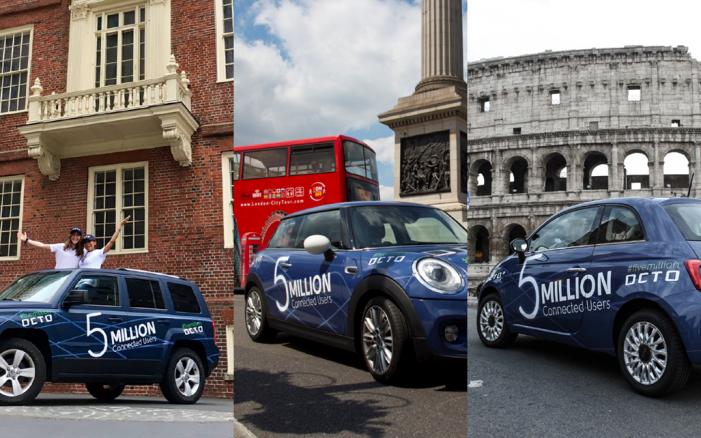 Octo Telematics conecta a 5 millones de coches en el mundo
