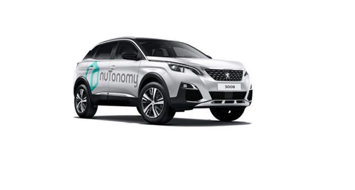 El Grupo PSA y nuTonomy firman un acuerdo  para probar vehículos autónomos