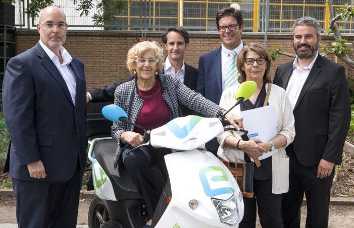 eCooltra Motosharing, las eléctricas ya circulan por Madrid