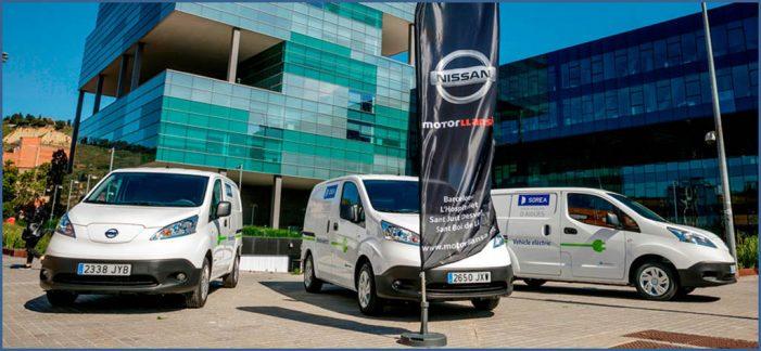 Tres Nissan e-NV200 se incorporan a la flota de Sorea
