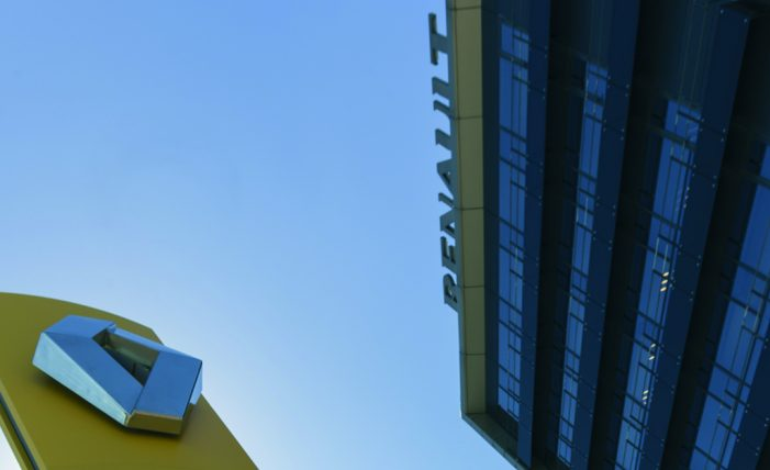 La cifra de negocio del Grupo Renault crece un 25,5% en el primer trimestre del año