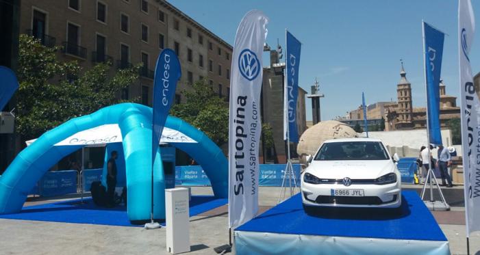 Endesa organiza la primera vuelta a España en vehículo eléctrico