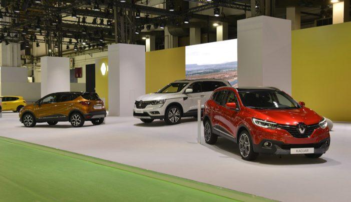 Renault muestra en Barcelona los nuevos crossover Captur y Koleos