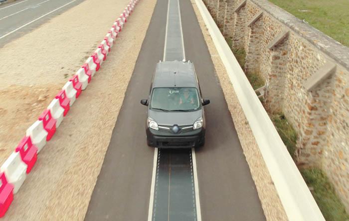 Renault apuesta por la carga de vehículos eléctricos en movimiento
