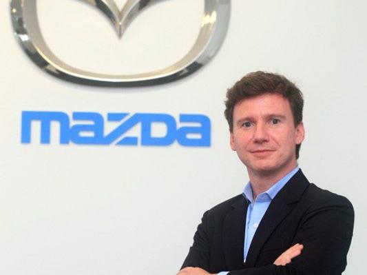 Benno Gaessler, en su etapa como responsable de Marketing de Mazda en España. // FOTOGRAFÍA: MAZDA