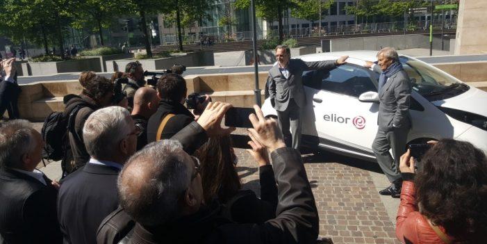 Elior Group se asocia con Bluecar para su flota de coches