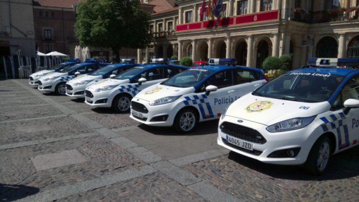 El Ayuntamiento de León renovará la mitad de la flota de la Policía Local