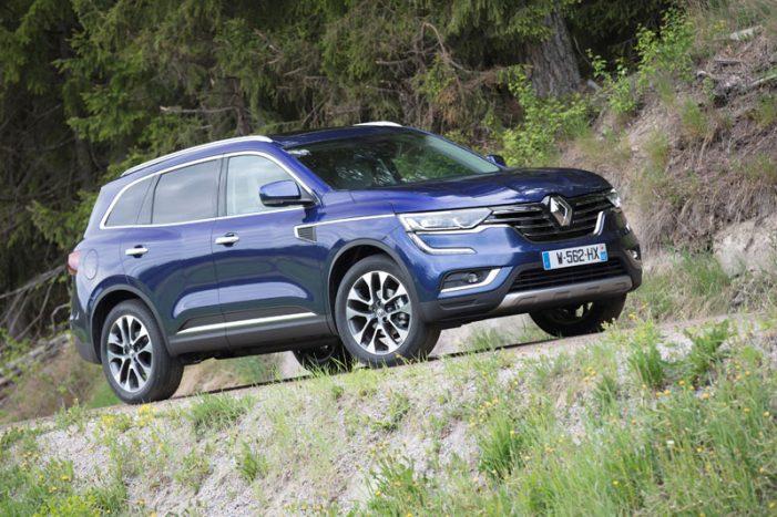 Koleos, el tercer SUV de Renault, preparado para su salida al mercado este mes de junio