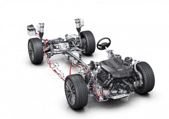 Audi entra en la hibridación ligera con un sistema 'mild hybrid' (MHEV) de 48 Voltios