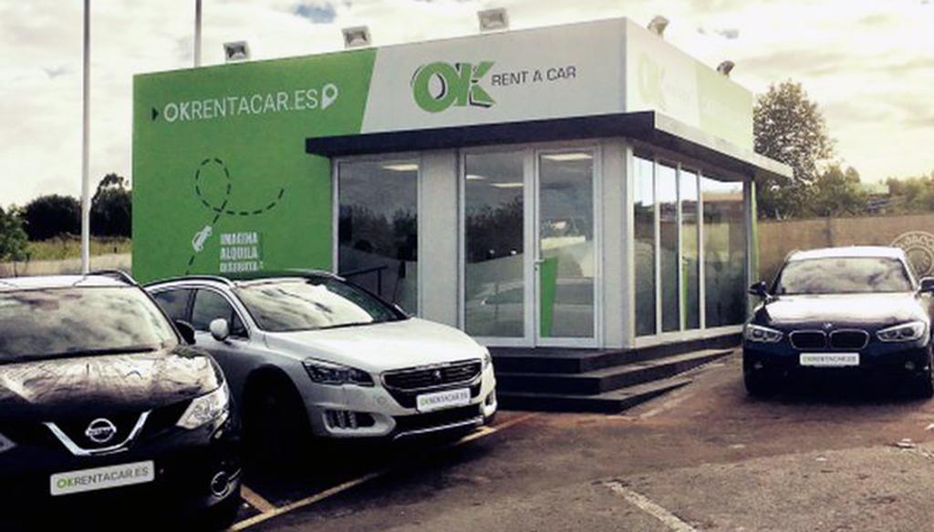 Ok rent a car estrena oficina en santiago de compostela for Oficina consumo santiago