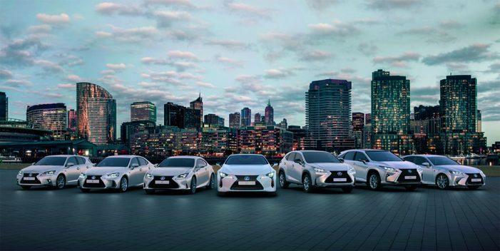 Más de 25.000 Lexus híbridos están en las carreteras de España