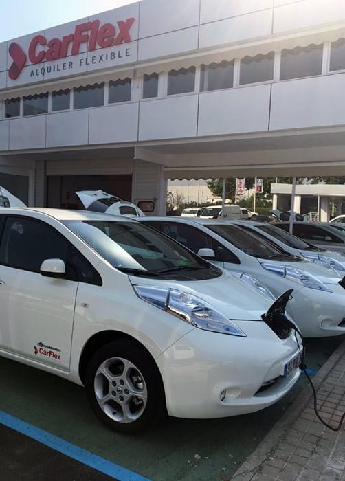 CarFlex cuenta con una nueva flota de vehículos eléctricos